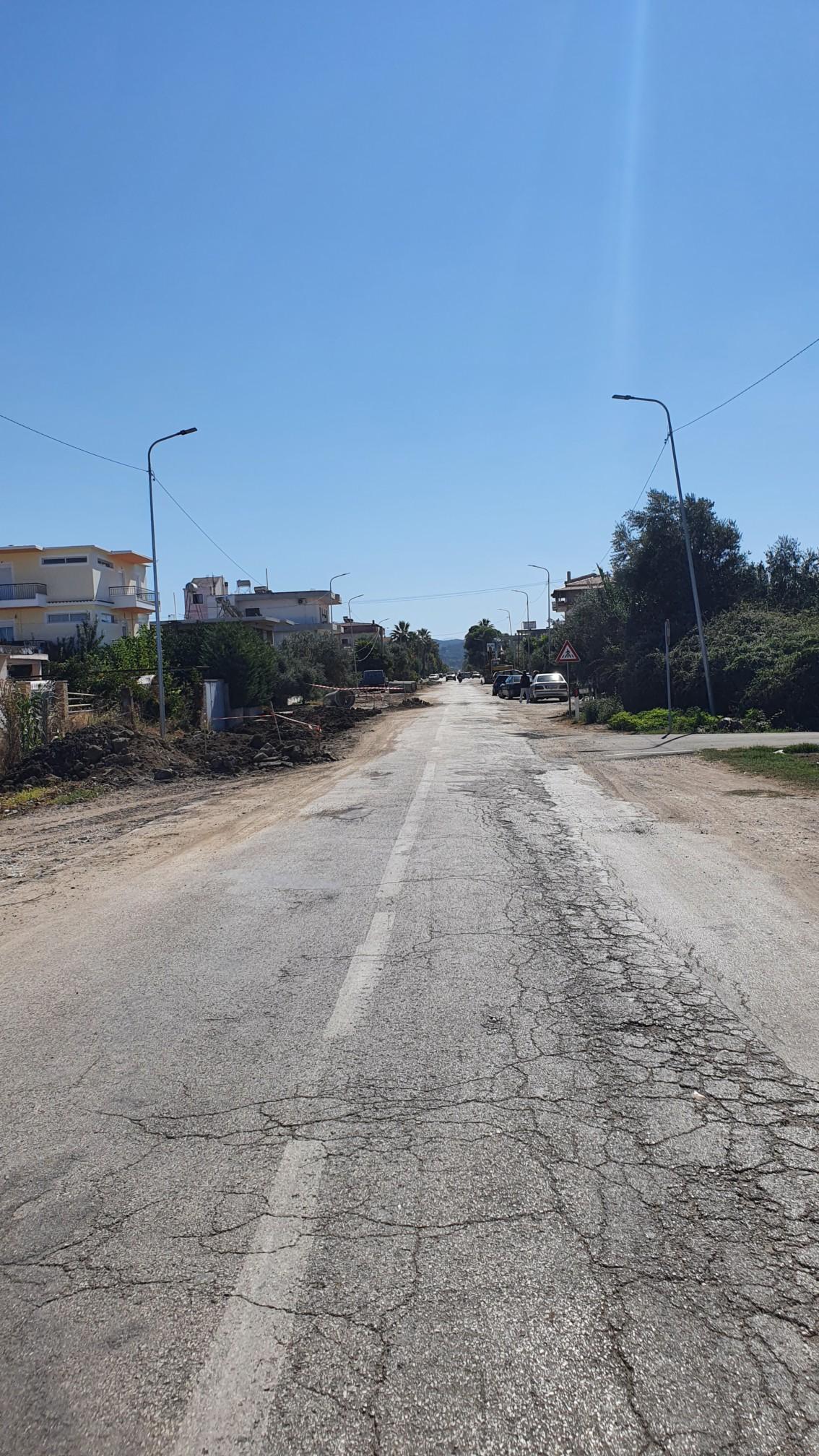 Straße bei Novosela