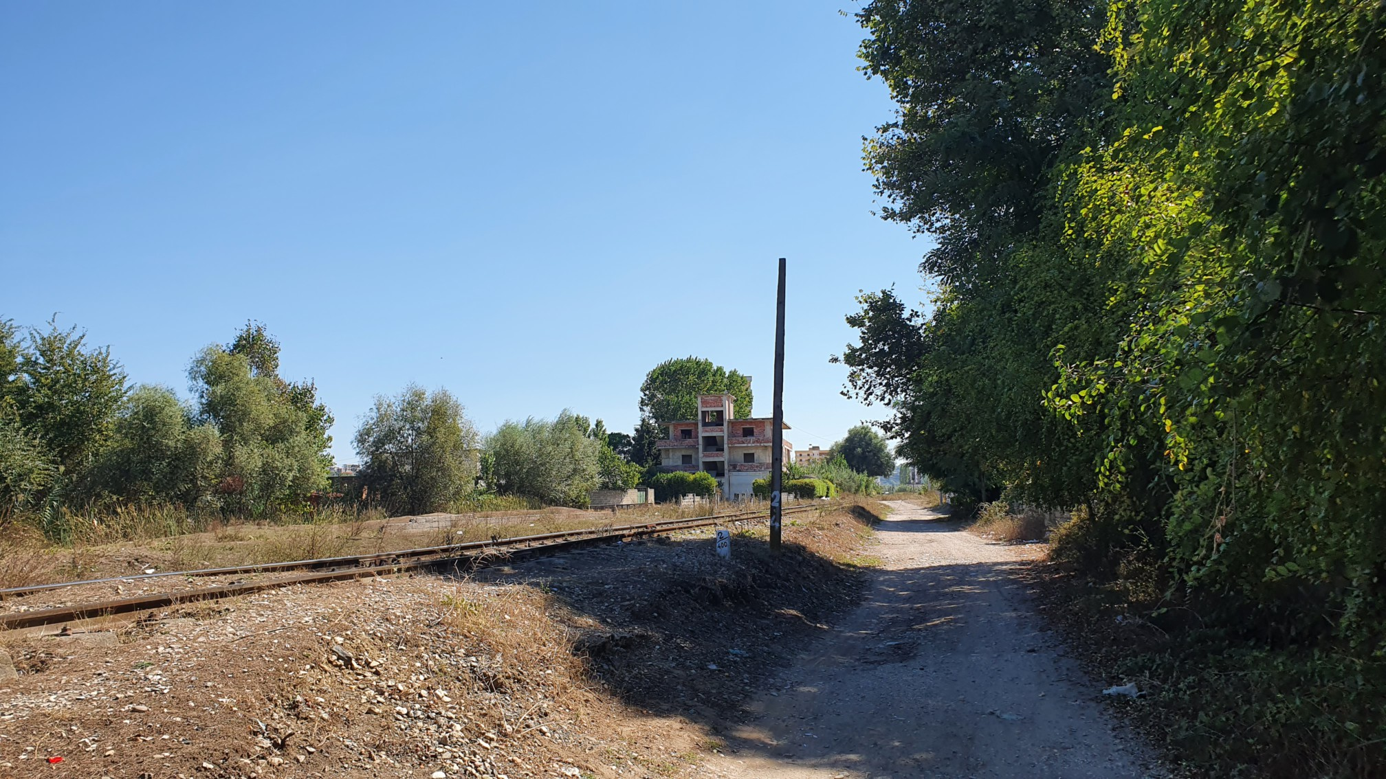 Weg in Durras