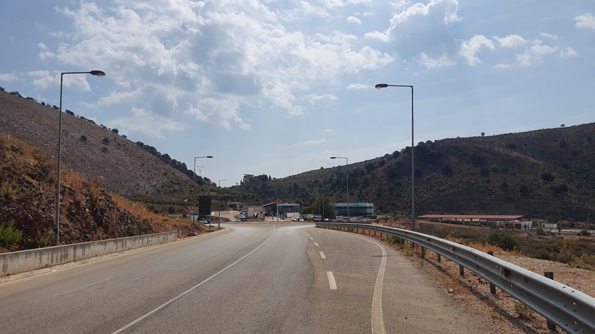 Grenze Albanien Griechenland