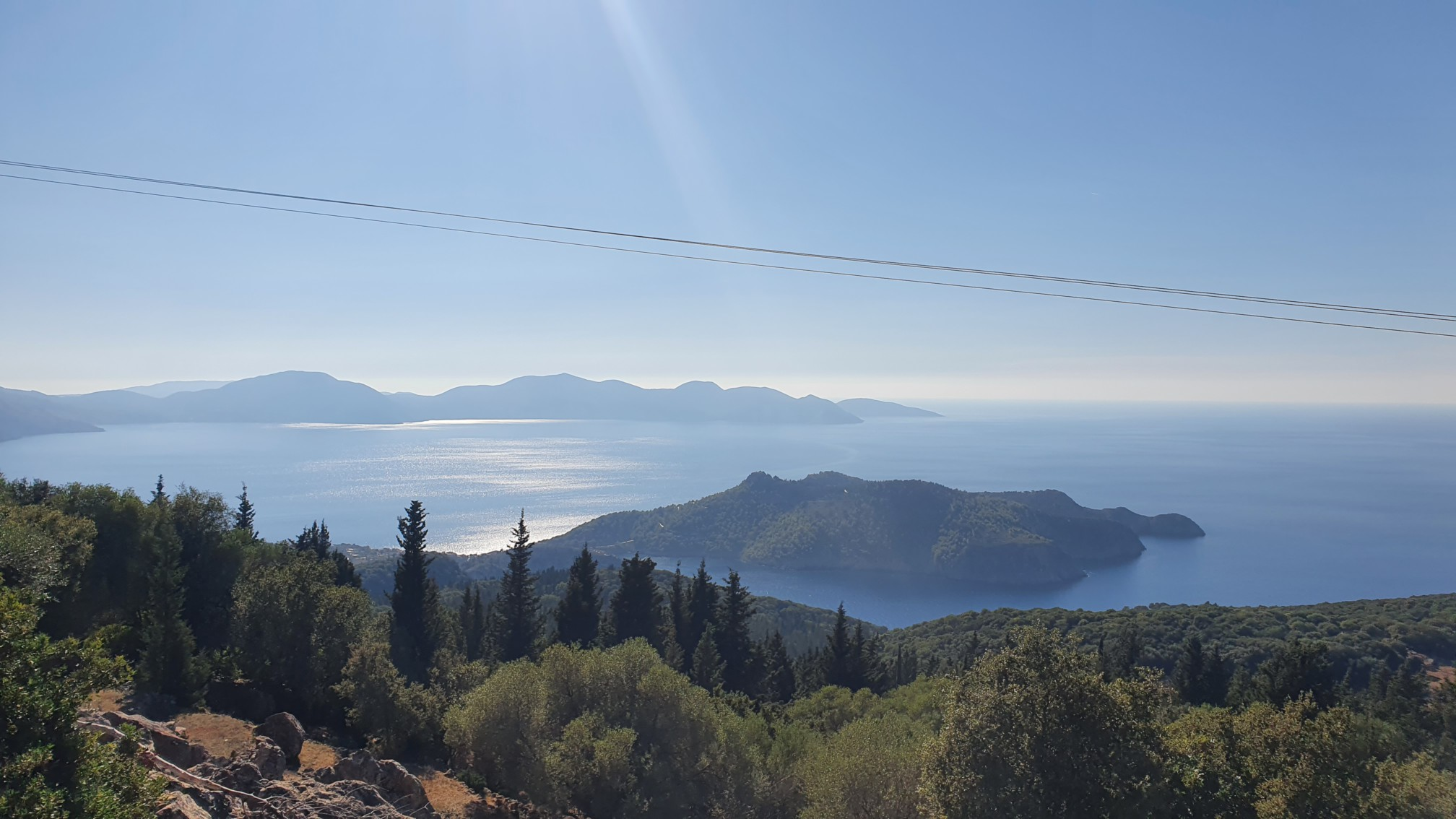 Kefalonia - Blick auf Asos