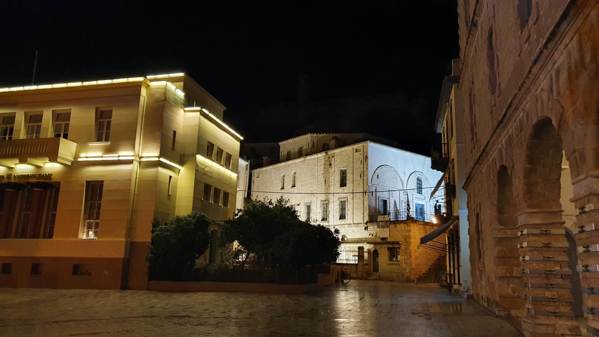 Nafplio bei Nacht