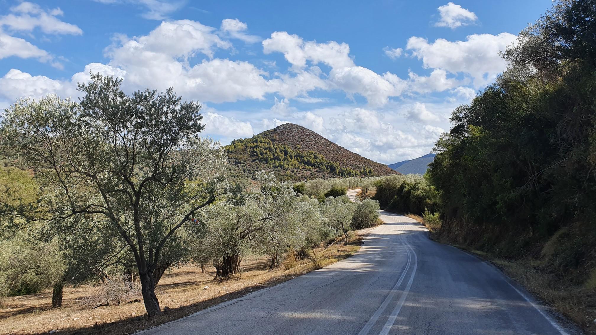 Straße bei Epidavrou